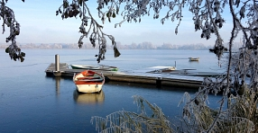 Seeburger See - Winterlandschaft
